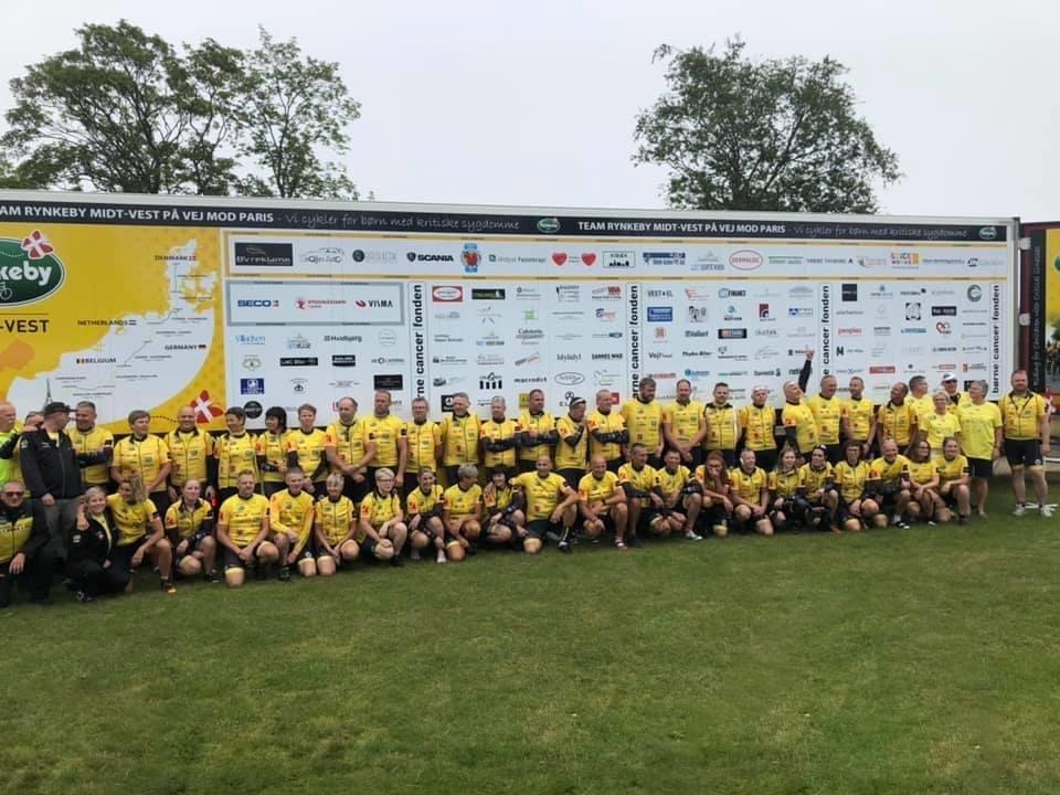 Team Rynkeby - Holdfoto 2019